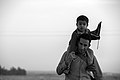 Arba'een In Mehran City 2016 - Iran (Black And White Photography-Mostafa Meraji) اربعین در مهران- ایران- عکس های سیاه و سفید 05.jpg
