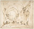 Architectural Capriccio- Vaulted Passageway Leading to a Square MET DP810127.jpg