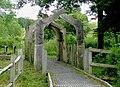 Archway leading from Cors Caron, near Tregaron, Ceredigion - geograph.org.uk - 1420350.jpg