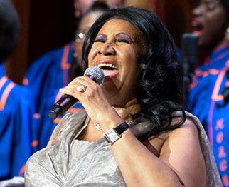 Aretha in 2015