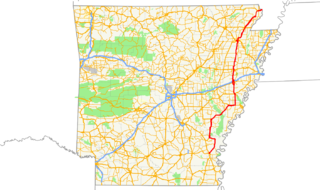 Arkansas Highway 1 State highway in Arkansas, United States