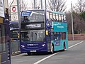 Arriva Sapphire SN15 LPJ 1947 Yorkshire Route 110 Leeds Bus Station Feb 2018.jpg