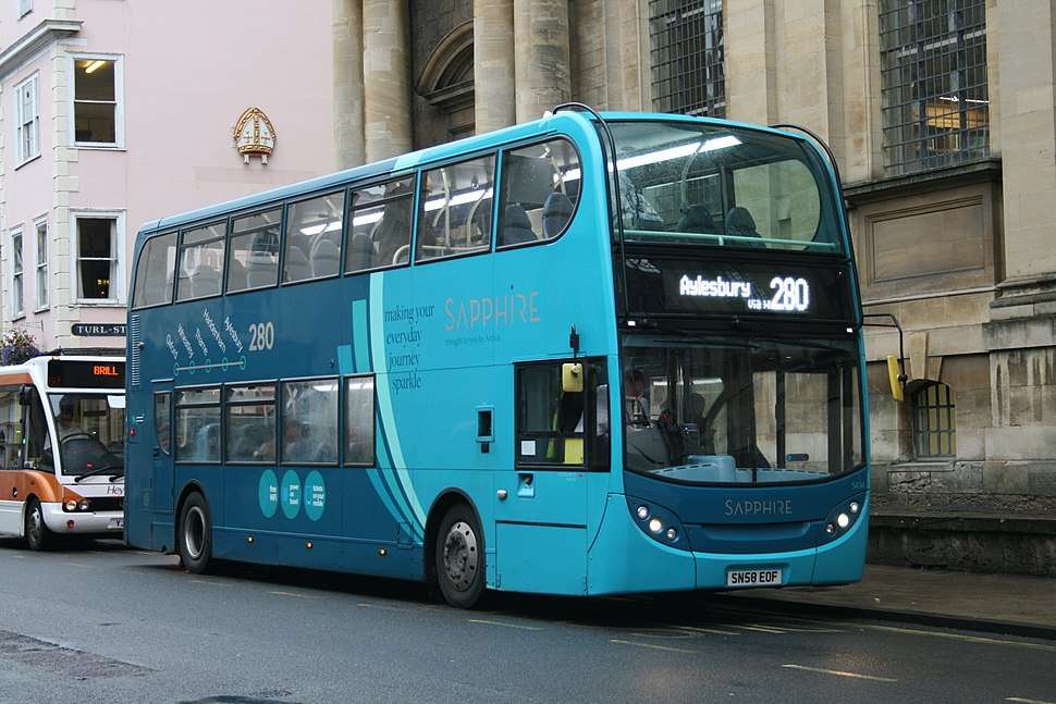 Arriva Shires 5434 on Route 280, Oxford City Centre (15380846728)
