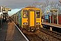 Arriva Trains Wales Class 150, 150253, Shotton High Level railway station (geograph 3800369).jpg
