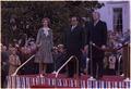 Arrival ceremony for state visit of Josip Tito, President of Yugoslavia - NARA - 178243.tif