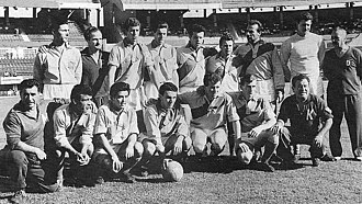 Arsenal de Sarandí - The 1962 Arsenal team, which won the first official title for the institution.