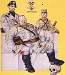 Art detail, Arthur Szyk (1894-1951). The New Order dustjacket (1941), New York (cropped).jpg