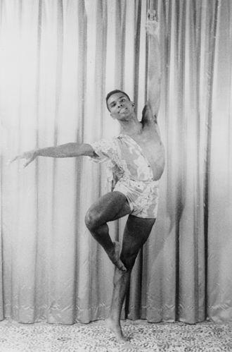 Arthur Mitchell (dancer) - Arthur Mitchell in 1955 by Carl Van Vechten