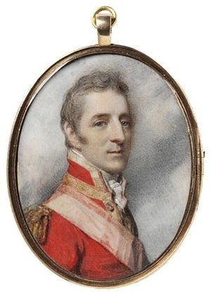 1808 in art - Image: Arthur Wellesley 1808, by Richard Cosway