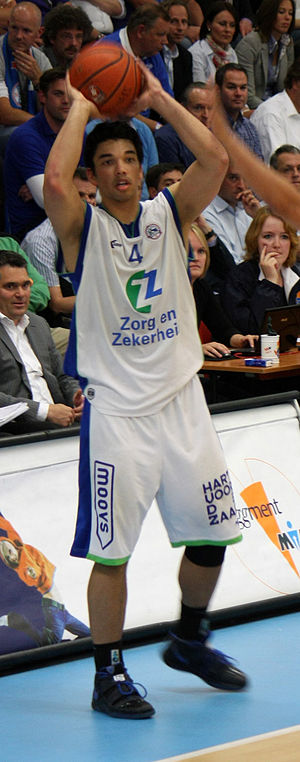 Arvin Slagter - Slagter playing for Leiden in 2011
