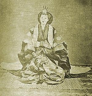 Empress Eishō - Image: Asako Kujo