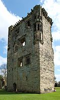 Ashby-de-la-Zouch Castle, William Lord Hastings's Tower from the north-west.jpg