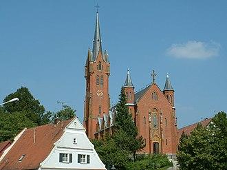 Schemmerhofen - Aßmannshardt, parish church St Michael