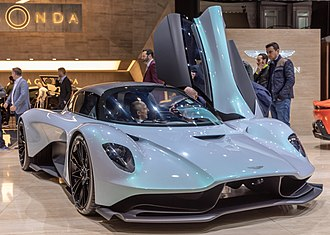 Geneva Motor Show - Aston Martin AM-RB 003