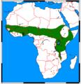 Atelerix albiventris range map.png