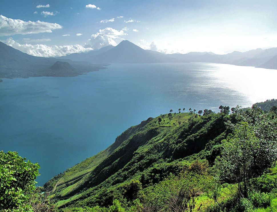 Atitlan Lake and Volcanoes (3746396035)