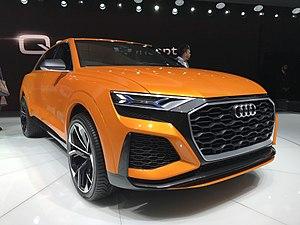 Audi Q8 - Image: Audi Q8 Sport Concept
