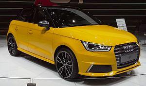 Audi S1 - Image: Audi S1 01 Geneva Motor Show 2014 03 09