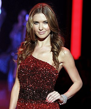 Audrina Patridge - Patridge at The Heart Truth's Red Dress Collection Fashion Show, February 2011.