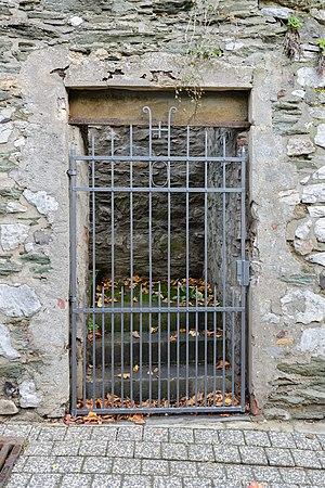 Aussenmauer - Bischofssitz Limburg - residence of the bishop of Limburg - October 26th 2013 - 04.jpg