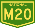 Australian National Route M20.png