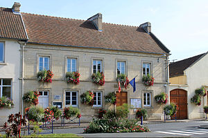 Authie, Calvados - Authie Town Hall