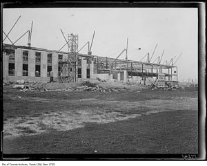 Automotive Building - Image: Automotive Building under construction 1929 South View