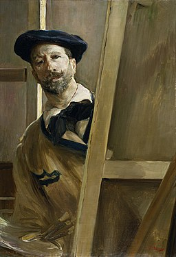 Autorretrato 1898 José Villegas Cordero