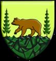 Autre blason de Villard-de-Lans (ours au naturel).png