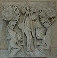 Autun Cathedrale Chapiteau pendaison de Judas.jpg