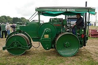 Aveling-Barford - 1938 Aveling-Barford diesel road roller