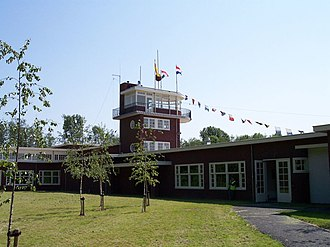 Aviodrome - Replica of the old Schiphol terminal building from 1928.