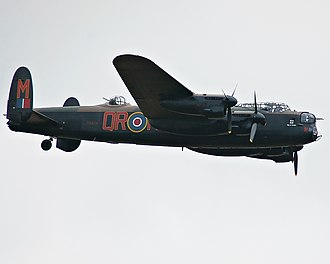 Heavy bomber - Royal Air Force Avro Lancaster