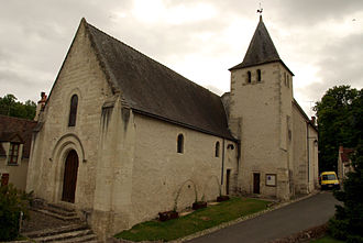 Azay-sur-Indre - The church in Azay-sur-Indre