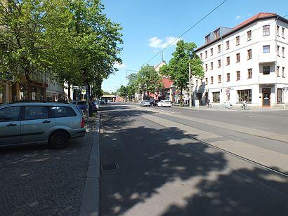 So kommt man zu der Bölschestraße mit den Öffentlichen - Mehr zum Ort Hier