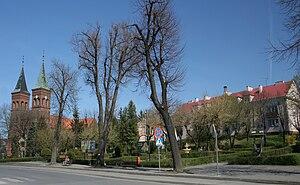 Błażowa - Market square