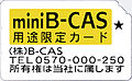 B-CAS CARD Mini YELLOW.JPG