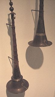 Suona Chinese sorna (double-reeded horn)