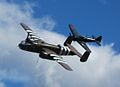 B25 and A6M3 Zero engaged in mock pursuit.JPG