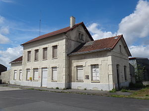 Bapaume - The old railway station