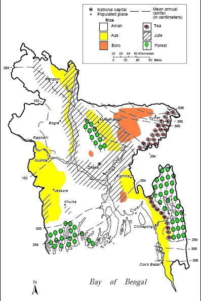 BD Agriculture Map