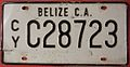 BELIZE, CAYO c.2000 -LICENSE PLATE - Flickr - woody1778a.jpg