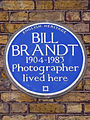 BILL BRANDT 1904-1983 Photographer lived here.jpg