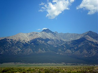 Sangre de Cristo Mountains - Image: BLANCA