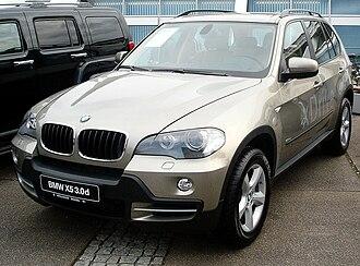 BMW X5 - BMW X5 3.0d