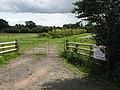 Back gate to Bosbury Nurseries - geograph.org.uk - 948495.jpg