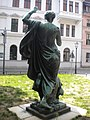 Back view of Statue beside Nikolai church Berlin.jpg