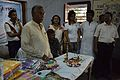 Baidya Nath Banerjee Addressing - Clothing Distribution Function - Nisana Foundation - Janasiksha Prochar Kendra - Baganda - Hooghly 2014-09-28 8351.JPG