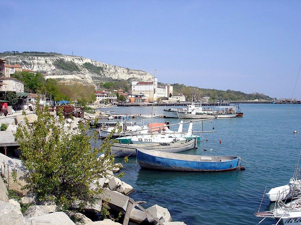 Balchik boats