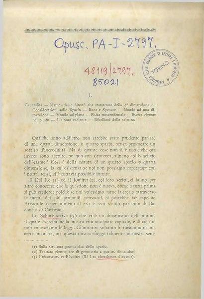 File:Ballatore - La quarta dimensione o l'iperspazio, 1908.djvu